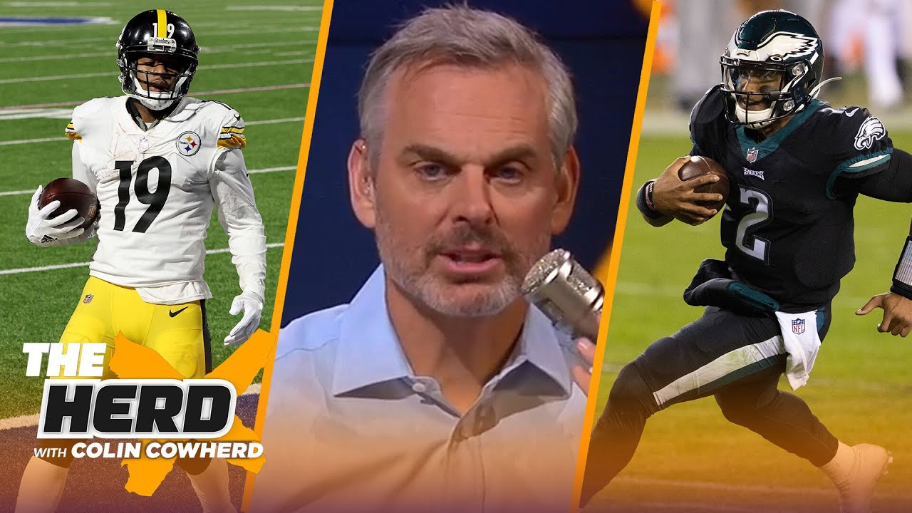 Hurts gave Philly a win & needed energy, talks Bills & Steelers future — Schrager | NFL | THE HERD