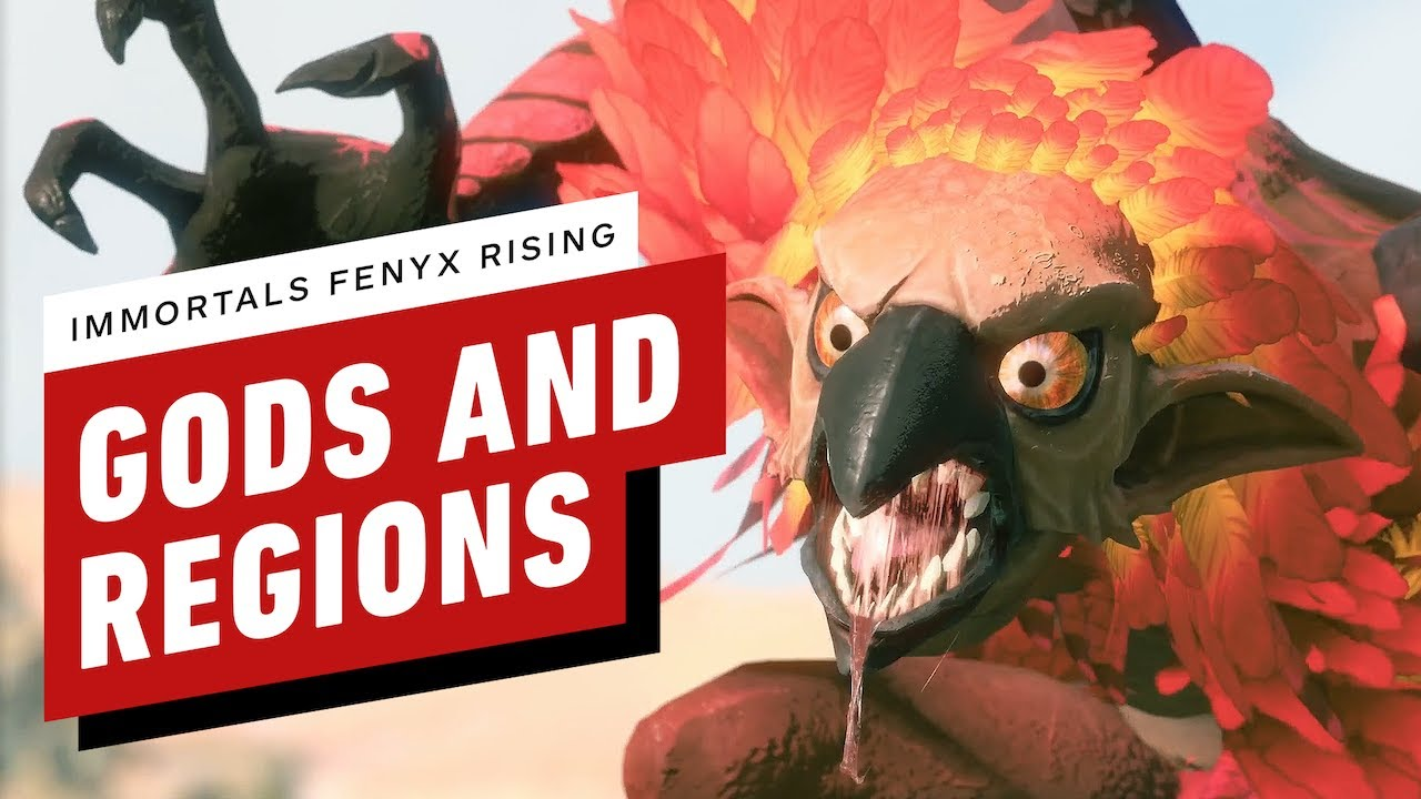 Immortals Fenyx Rising: Gods and Regions