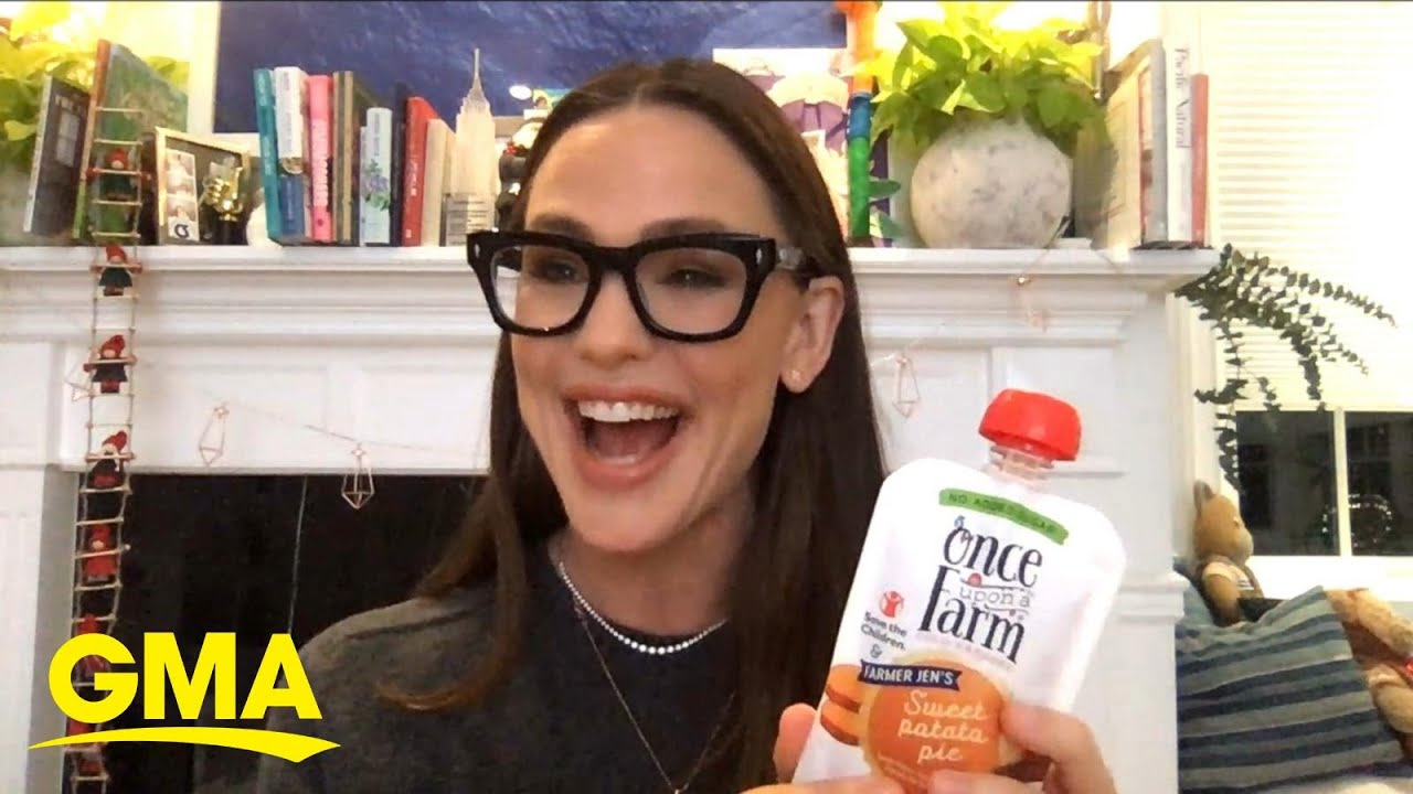 Jennifer Garner on new sweet potato pie flavor that gives back to hungry kids l GMA