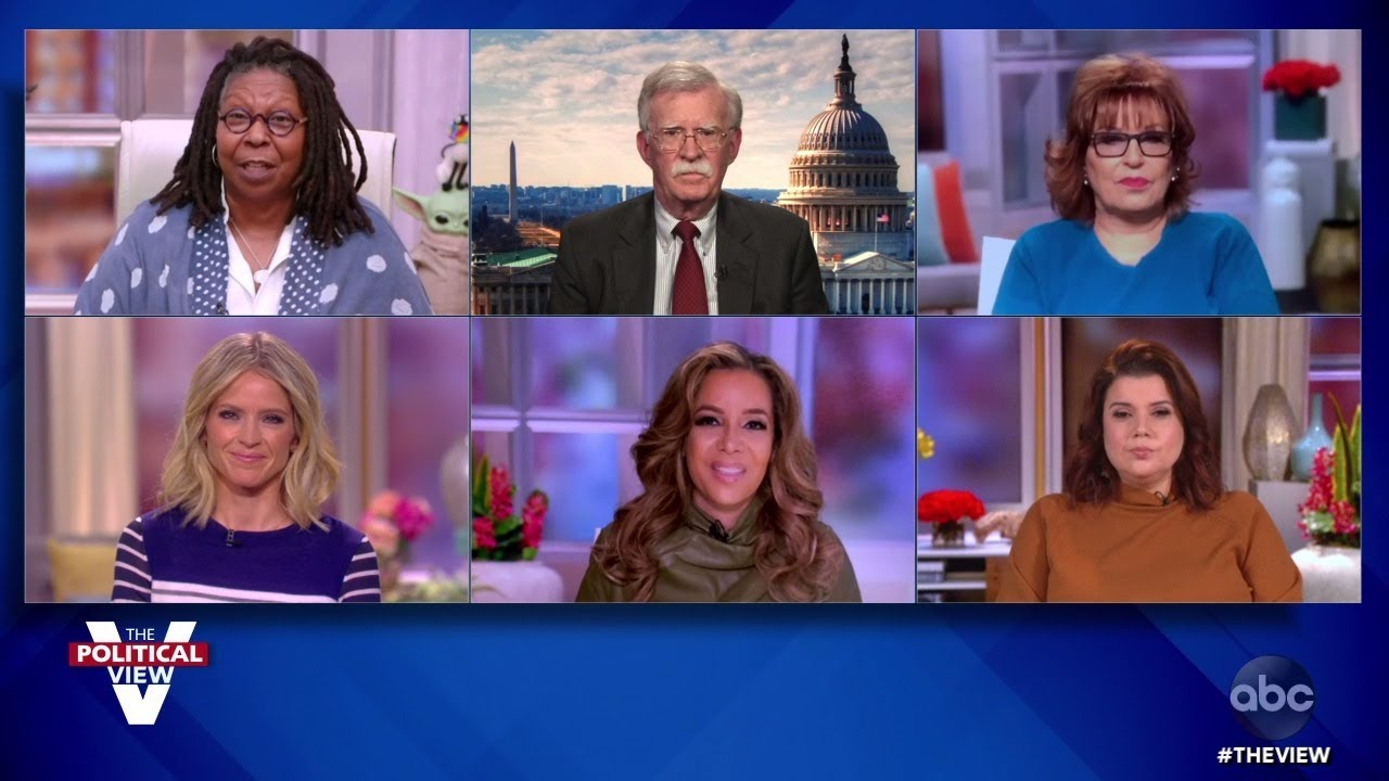 John Bolton on Potential for Trump to Become a Security Threat After Leaving Office | The View