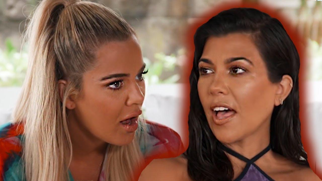 Khloe Kardashian Mocks Kourtney Kardashian Poosh Content