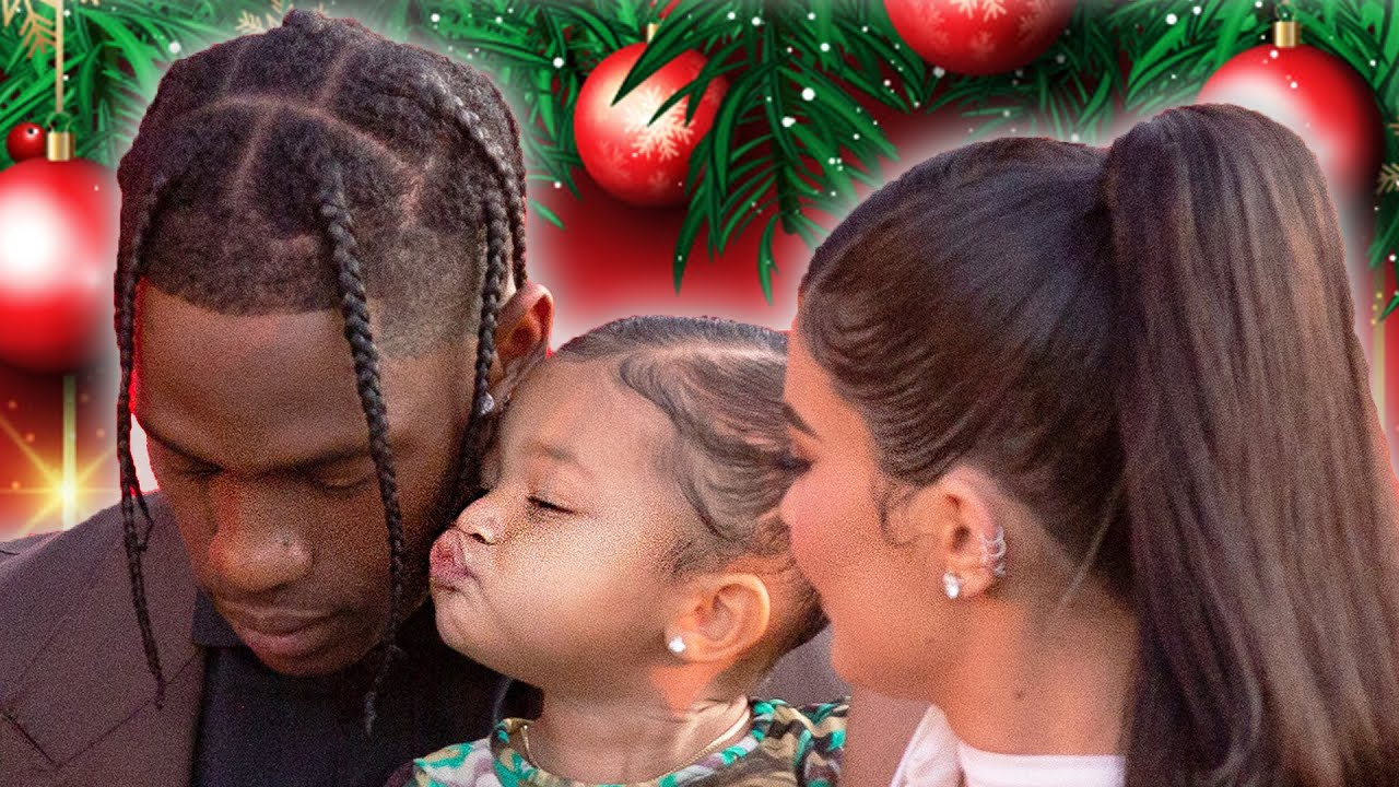 Kylie Jenner & Stormi Reunite With Travis Scott At Cactus Jack Holiday Toy Drive