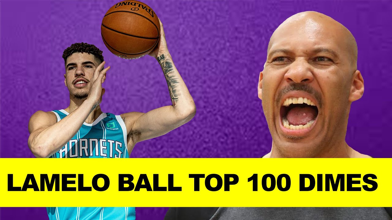 LaMelo Ball Top 100 DIMES – Charlotte Hornets Guard Best Passes at Spire