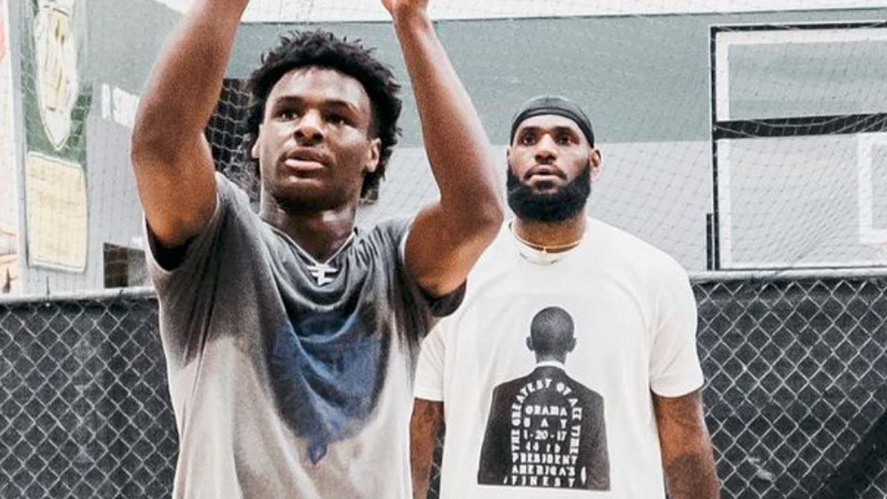 LeBron James Says He Wants To Have Bronny As A Teammate As Soon As His Lakers Contract Expires