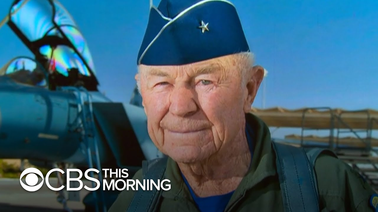 Legendary Air Force pilot Chuck Yeager, the first person to break the sound barrier, dies at 97