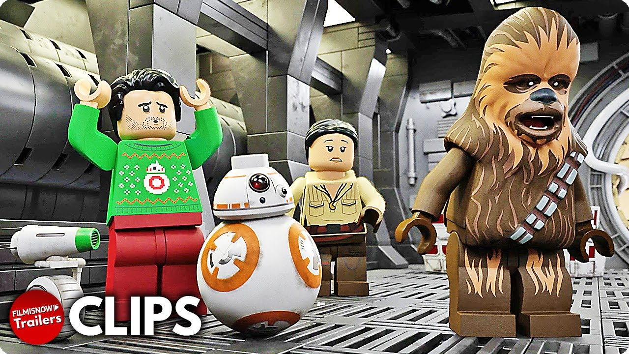 LEGO STAR WARS HOLIDAY SPECIAL New Clips (2020) Disney+