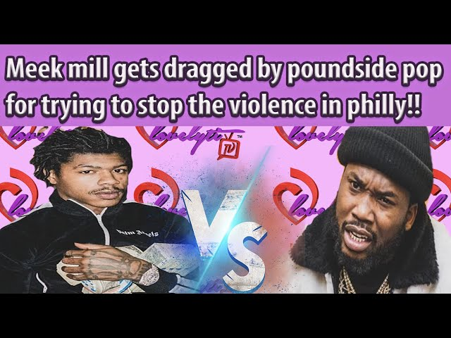 "Meek mill gets dragged & ""kicked out"" of Philly for trying to stop the violence!~PICK A SIDE!"