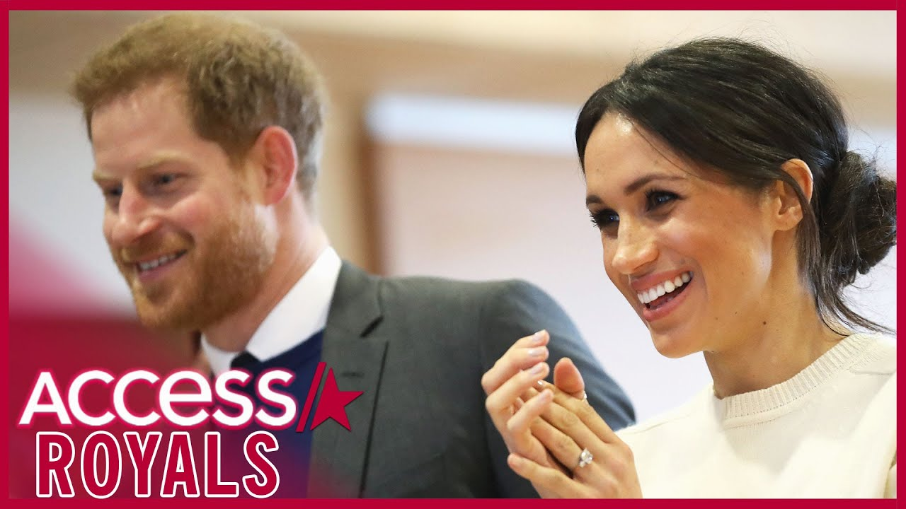 Meghan Markle & Prince Harry's Funny Run-In While Christmas Tree Shopping (Reports)