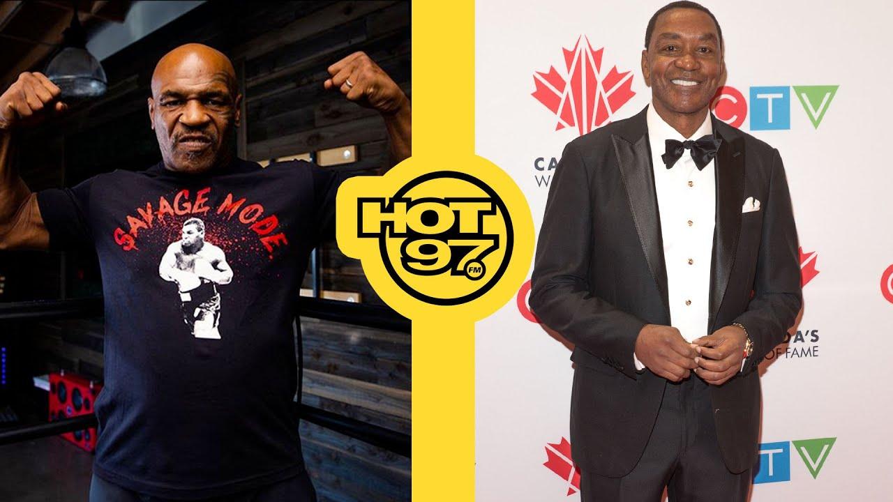 Mike Tyson Speaks On Boxing Future + Isiah Thomas Reacts To Micheal Jordan's Feelings Towards Him
