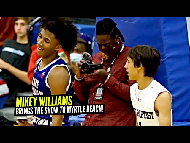 Mikey Williams Goes To TIGER KING Territory & Shows OUT!! Lake Norman Take OVER In Myrtle Beach!