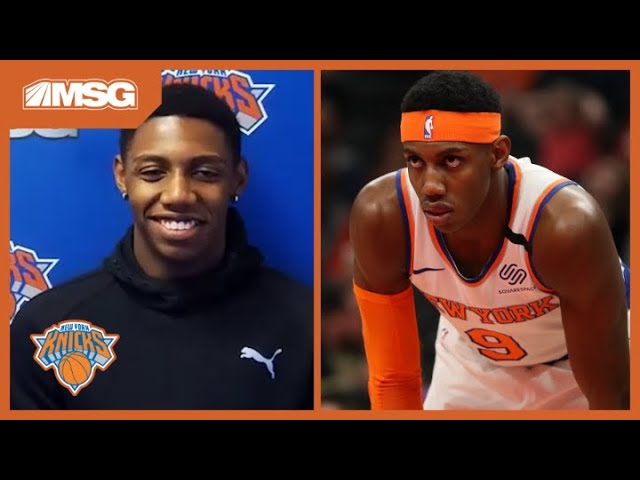 RJ Barrett Has A New Chip On His Shoulder As He Returns For 2021 Season | New York Knicks