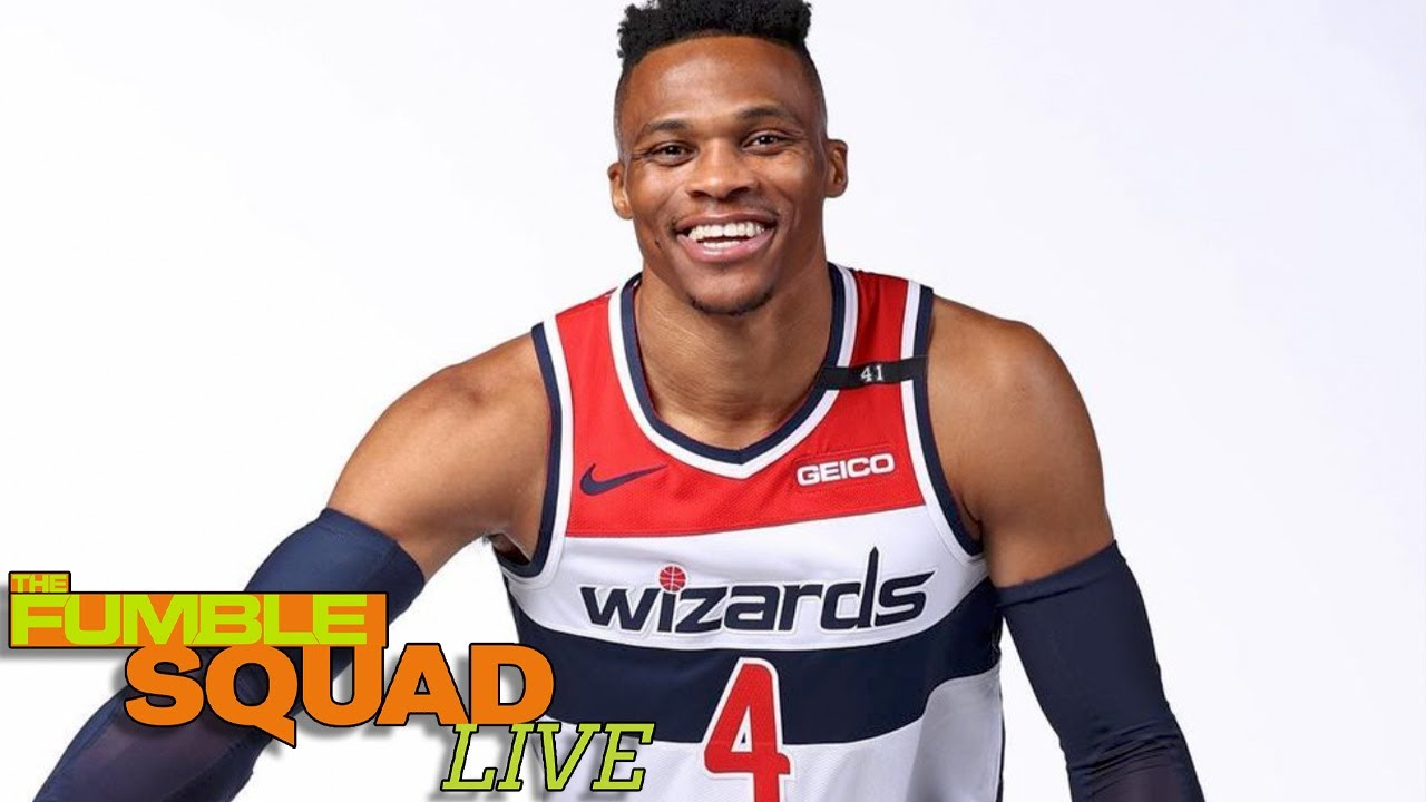 Russell Westbrook Makes Himself SUPER Comfortable In WA, Takes Over Entire Wizards Locker Room
