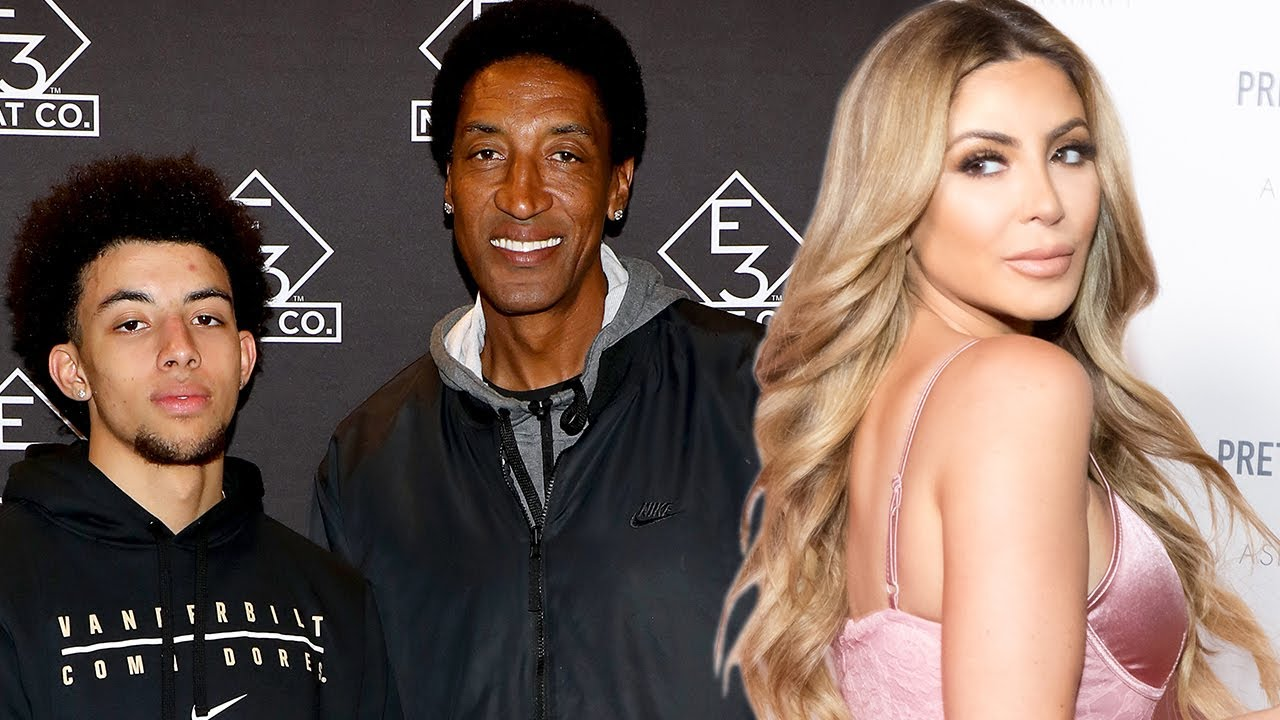 Scottie Pippin Jr Shades His Mom Larsa After She's Put On BLAST For Dating Married Man Malik Beasley