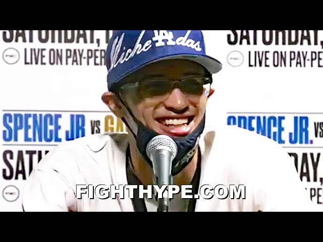 """SEBASTIAN FUNDORA POST-FIGHT TELLS JERMELL CHARLO """"HOPE WE CAN MEET UP ONE DAY""""; DESTROYS AHMED IN 2"""