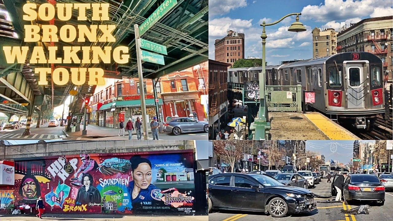 South Bronx Walking Tour [Part 1] | Vlogmas Day 14