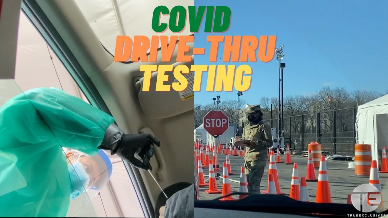 Taking the Drive-Thru Covid Test | Vlogmas Day 10