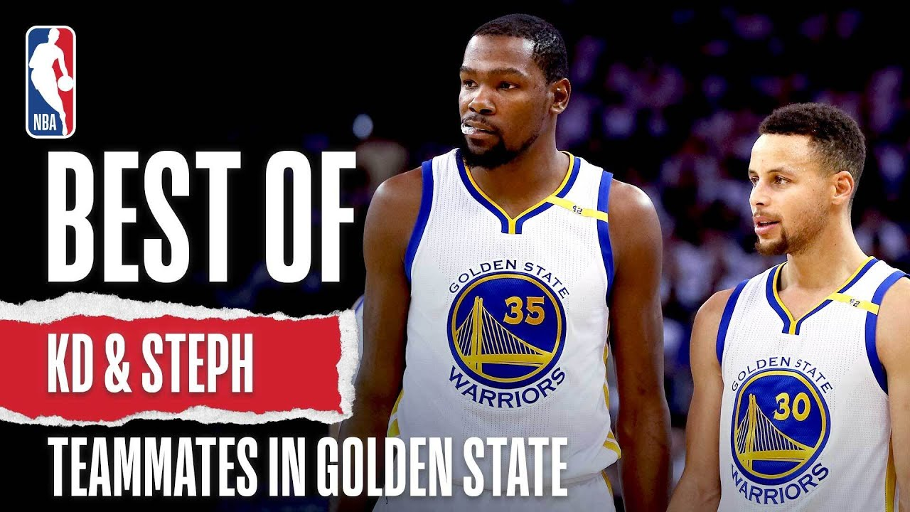 The BEST Of KD & Steph As Teammates  🔥