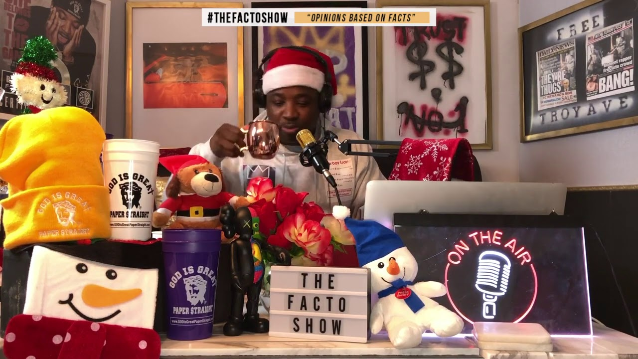 THE CASH APP TEST CHRISTMAS A $60 MARTINI IDIOT CONTROL & POOR RICH PEOPLE THE FACTO SHOW EP 27