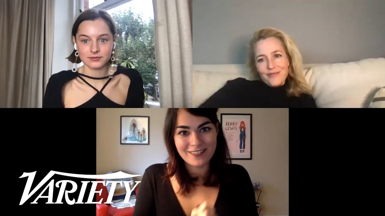 'The Crown' Stars Emma Corrin & Gillian Anderson on Portraying Margaret Thatcher and Princess Diana