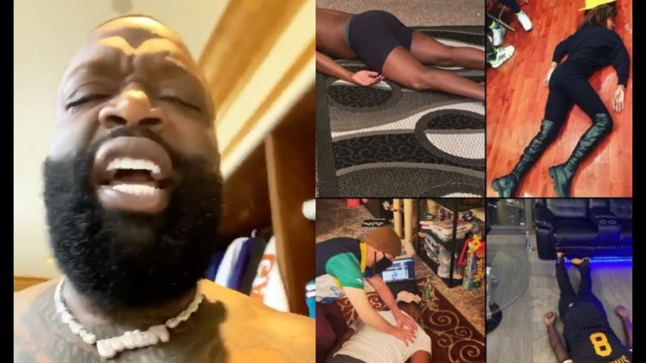 """This Sh*t Aint Right"" Rick Ross Reacts To Nate Robinson Challenge Memes After KO By Jake Paul"