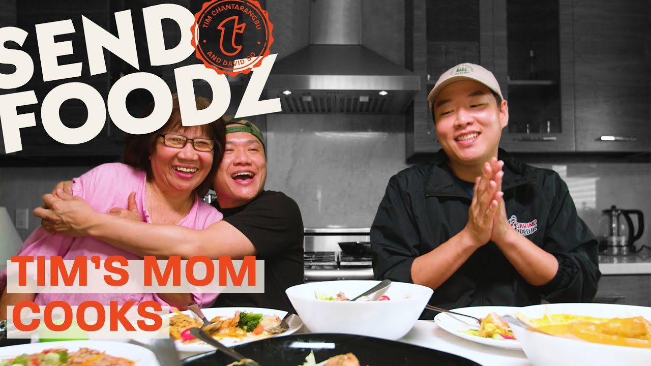 Tim's Mom Cooks a Homemade Thai Feast | Send Foodz