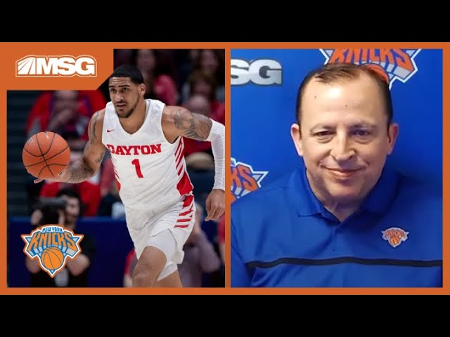 Tom Thibodeau Ready To Build Winning Culture With Obi Toppin & Young Core | New York Knicks