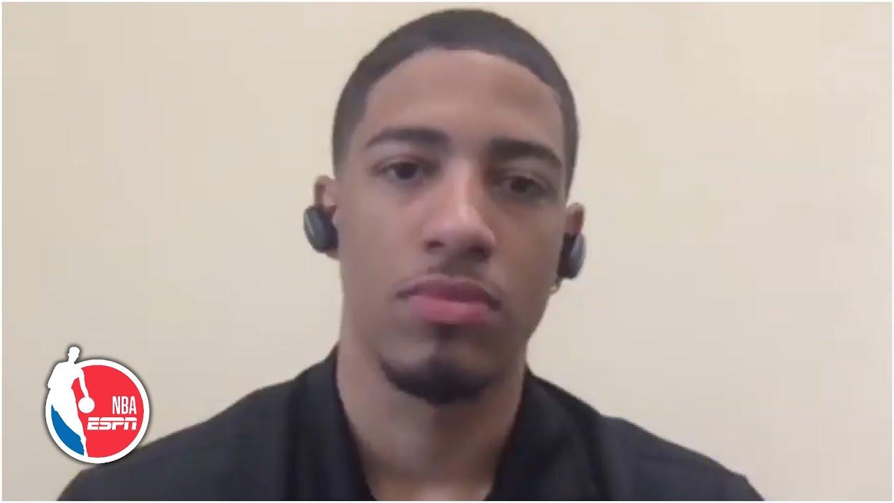 Tyrese Haliburton 2020 NBA Draft Media Day Interview | NBA on ESPN