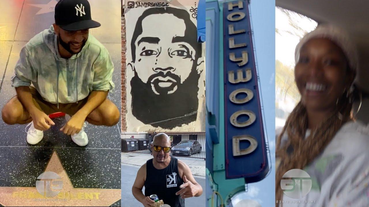Visiting HollyHOOD BLVD | Old Town Calabasas | Studio w/ Brandy & More [VLOG]