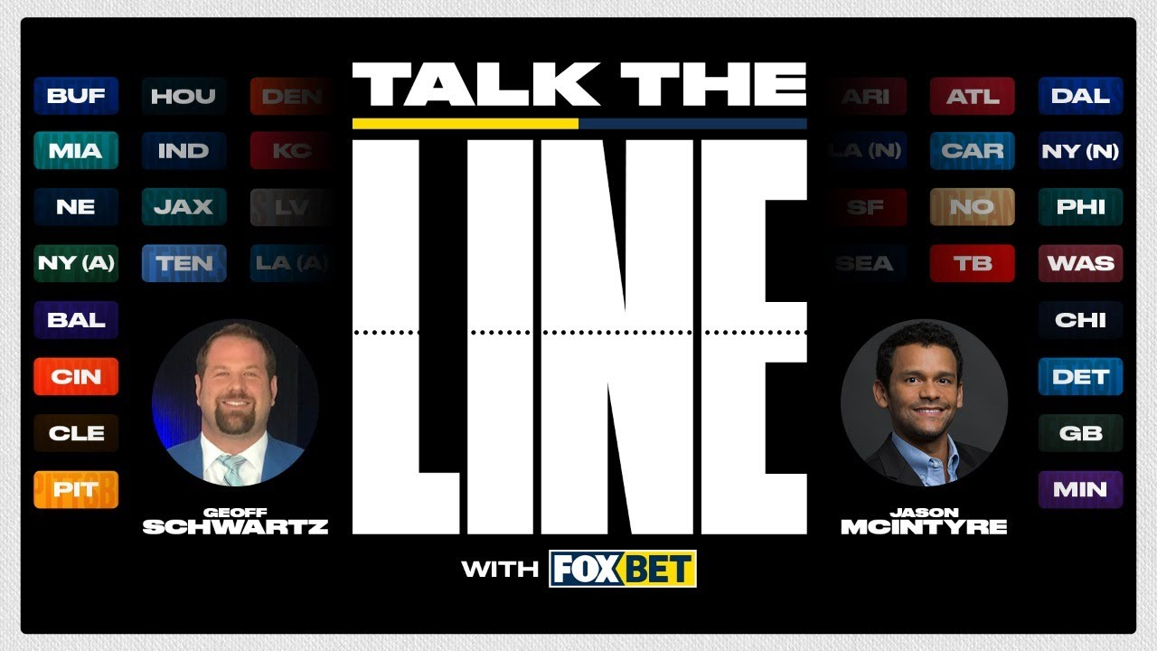 Week 14 Pro Football Picks and Line Movement: Talk the Line with FOX Bet!