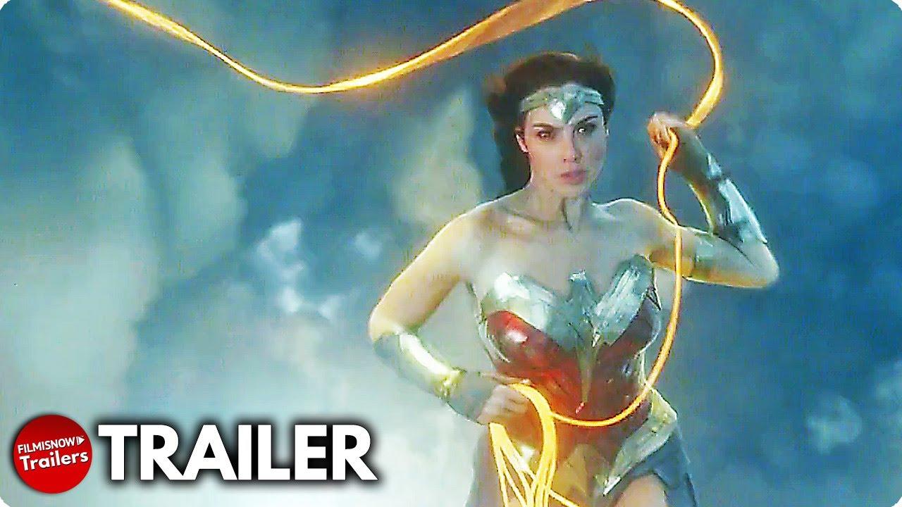 WONDER WOMAN 1984 Trailer CCXP NEW (2020) Gal Gadot DC Movie