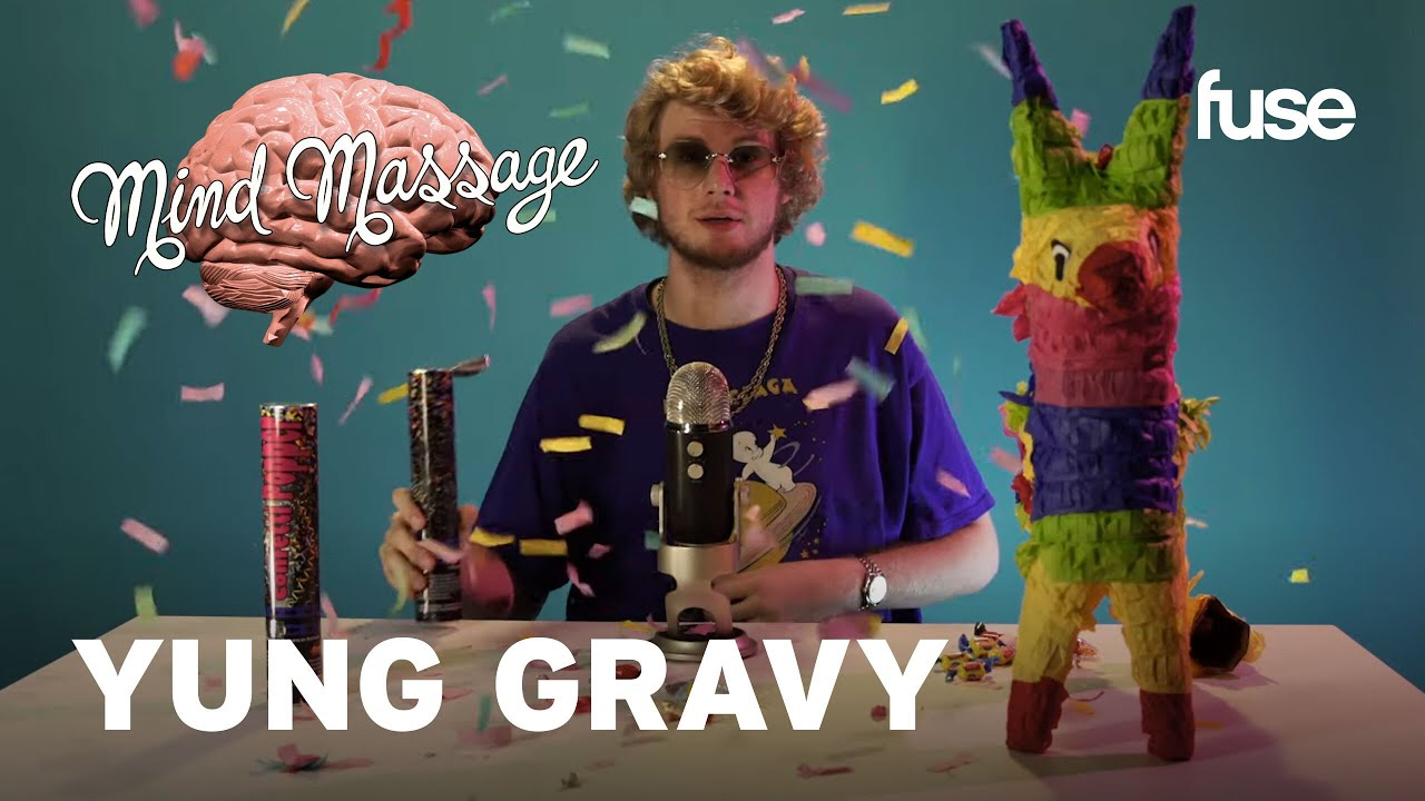 """Yung Gravy Does ASMR with Party Poppers, Talks How He Got Started & """"Gasanova"""" 
