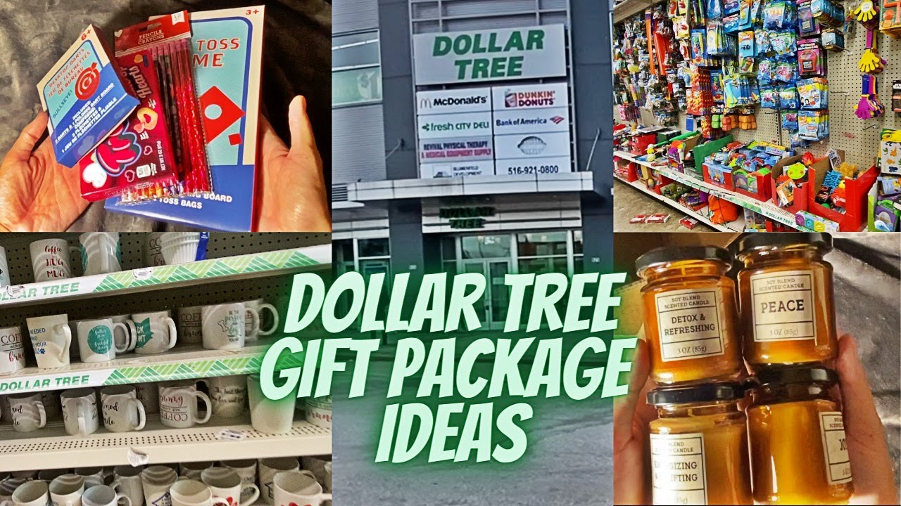 Affordable Dollar Tree Gift Package Ideas  | Vlogmas Day 25