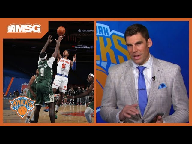 Analyzing the Knicks' Dominating Pick & Roll in Win vs. Bucks | New York Knicks