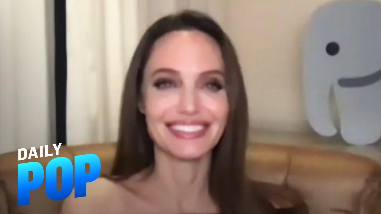"Angelina Jolie Enjoys ""Chaos"" in Her Home During Quarantine | Daily Pop | E! News"