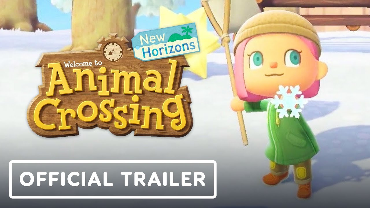 Animal Crossing: New Horizons – Official Exploring January Trailer