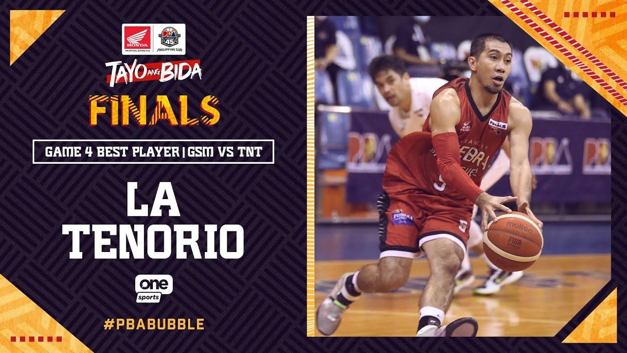 Best Player: LA Tenorio   PBA Philippine Cup 2020 Finals