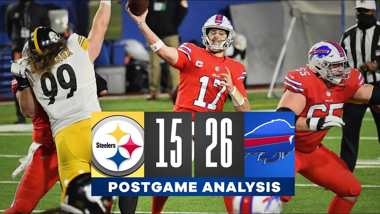 Bills get statement win over Steelers | NFL Analysis | CBS Sports HQ