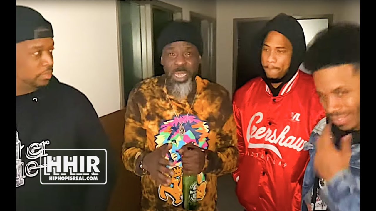 BLACK FONZ RECAPS HIS BATTLE VS OOOPS, MOON SHOWS UP & STEALS THE SHOW!!! WAR READY 2!!!