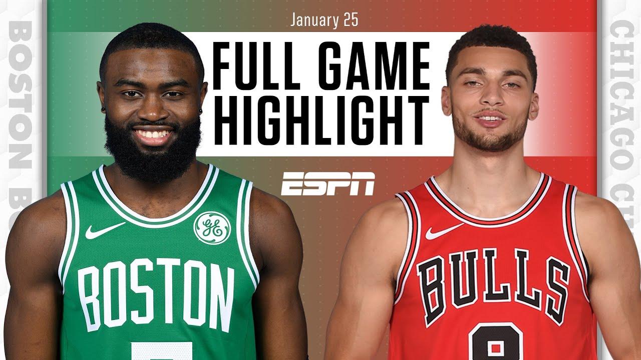 Boston Celtics vs. Chicago Bulls [FULL GAME HIGHLIGHTS]   NBA on ESPN