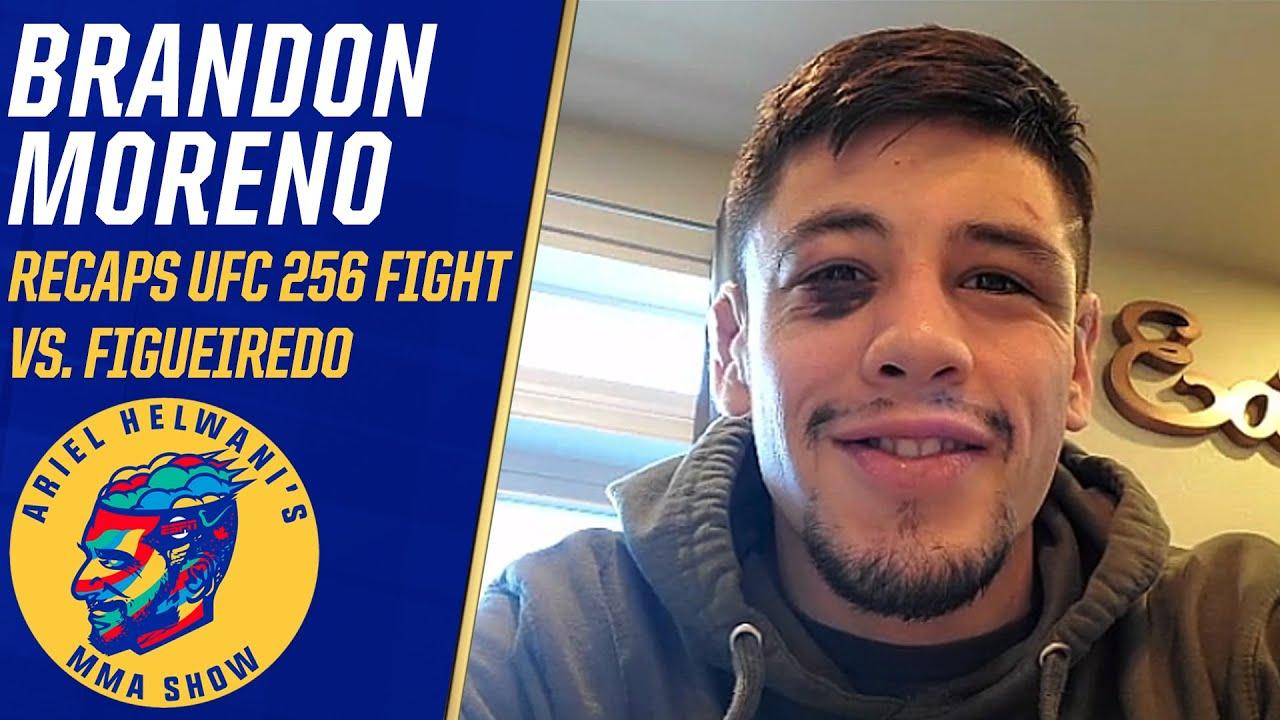 Brandon Moreno laughs off Deiveson Figueiredo's hospital story   Ariel Helwani's MMA Show