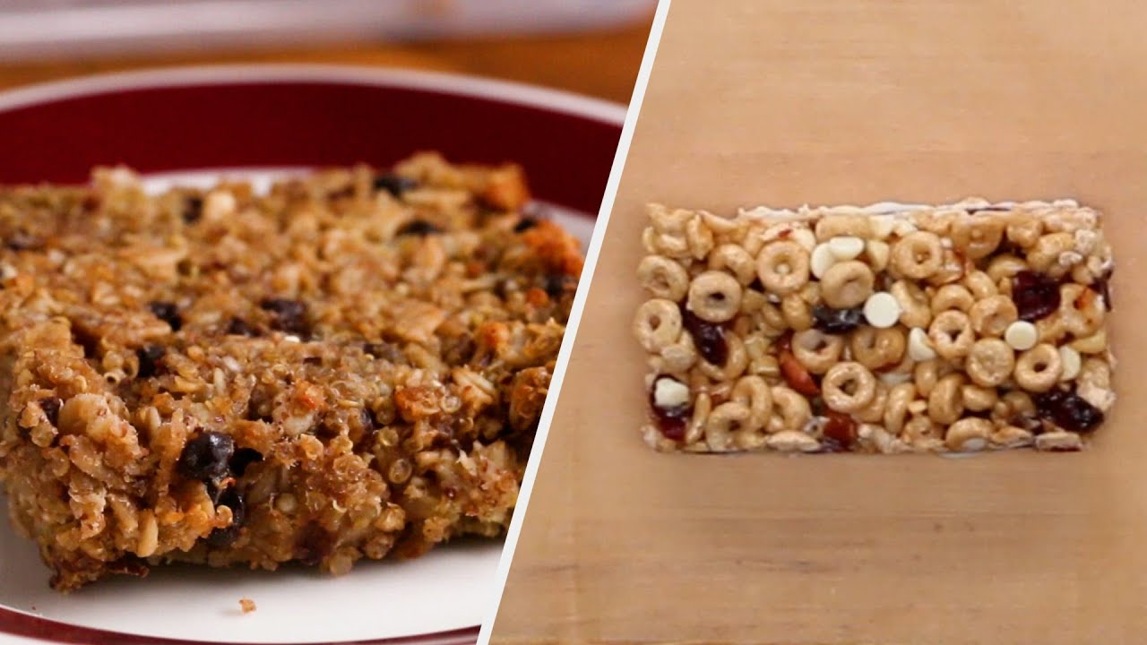 Breakfast Bars For When You're On The Go