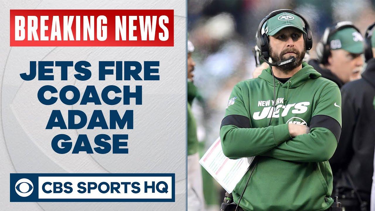 BREAKING: Jets fire head coach Adam Gase | CBS Sports HQ