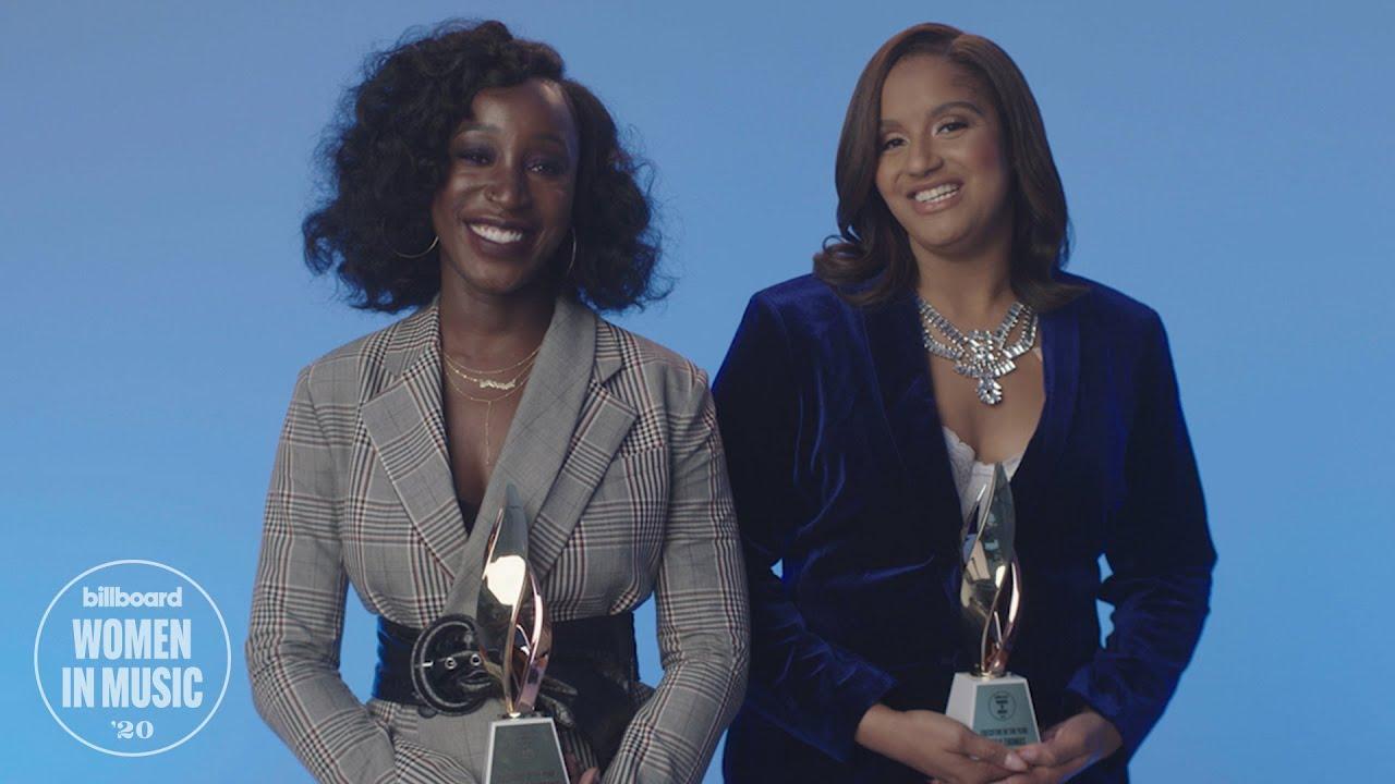 Brianna Agyemang & Jamila Thomas Receive Executives of the Year Award   Women In Music 2020