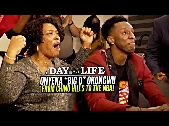 """Chino Hills HS to #6 Pick In NBA DRAFT!   Onyeka """"Big O"""" Okongwu """"DRAFT DAY In The Life"""""""