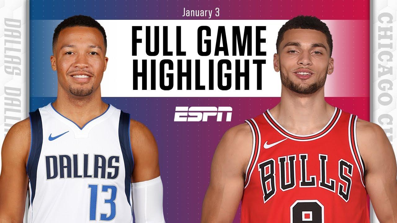 Dallas Mavericks vs. Chicago Bulls [FULL GAME HIGHLIGHTS] | NBA on ESPN