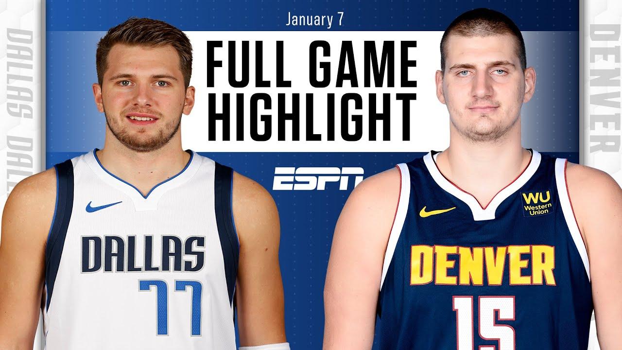 Dallas Mavericks vs. Denver Nuggets [FULL GAME HIGHLIGHTS] | NBA on ESPN