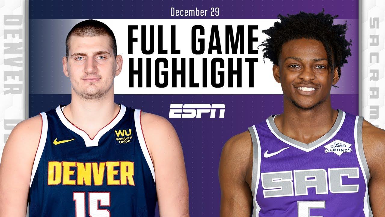 Denver Nuggets vs. Sacramento Kings [FULL GAME HIGHLIGHTS] | NBA on ESPN