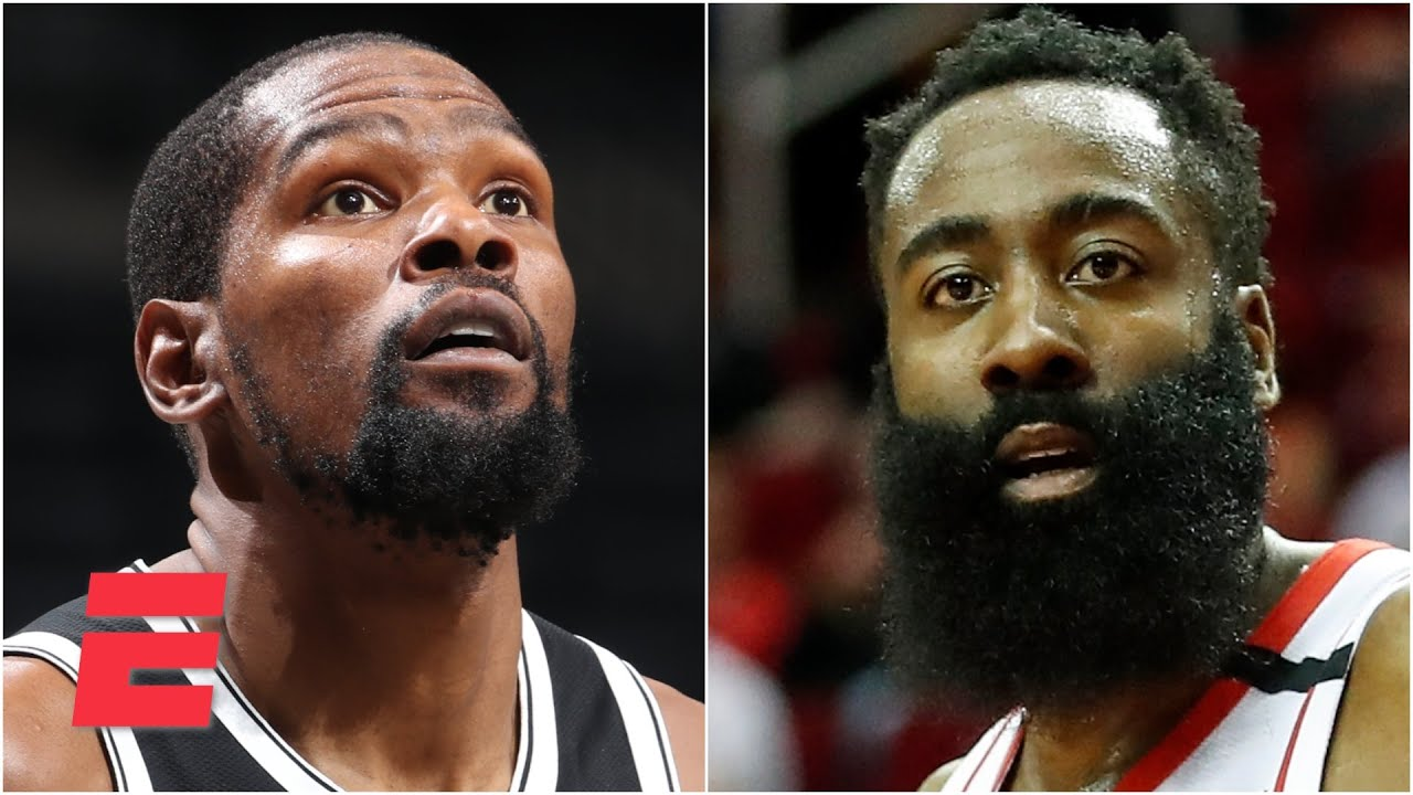 Discussing Kevin Durant's Nets preseason debut & James Harden still seeking a trade | KJZ