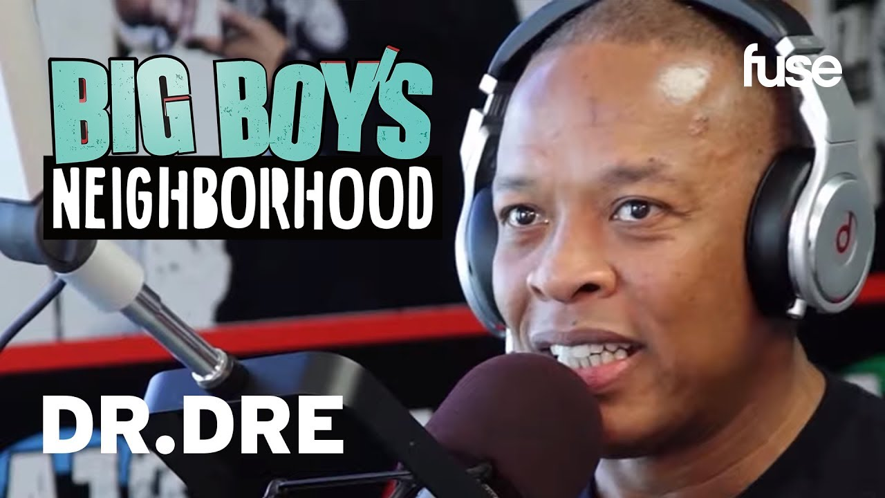 Dr. Dre Talks Personal Success and Collecting Platinum Records | Big Boy x Fuse
