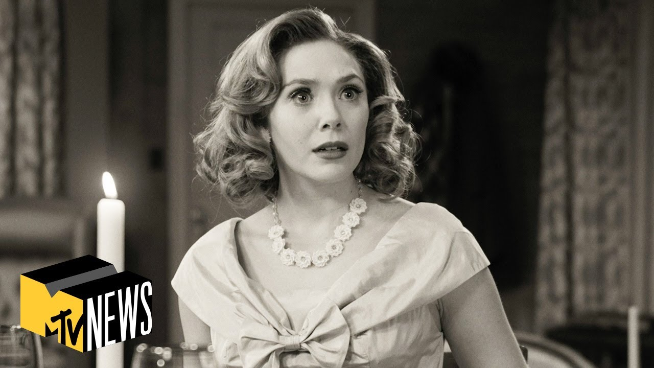 Elizabeth Olsen on 'WandaVision', 'Doctor Strange 2' & Sam Raimi | MTV News
